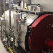 Dampfkessel mit Steuerung von staedler automation Ag