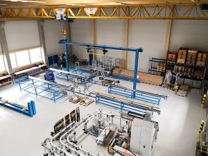 Werkhalle staedler automation AG